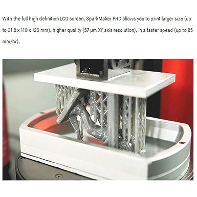 Impresora Sparkmaker 3D FHD Uv Resina Impresora 405um Alta ...
