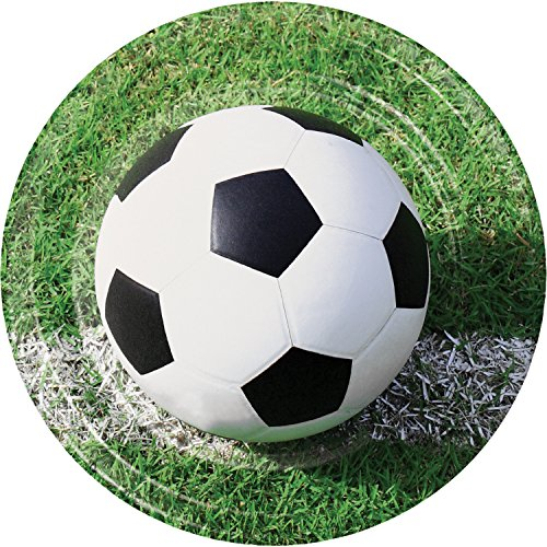 Soccer Paper Plates, 24 ct ()