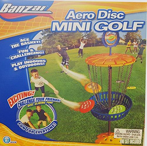Banzai Aero Disc Mini Golf by Banzai