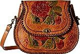 Patricia Nash Women's Arezzo Flap Shoulder Bag Gold One Size