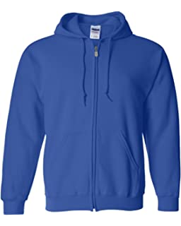 Gildan Mens Fleece Zip Hooded Sweatshirt