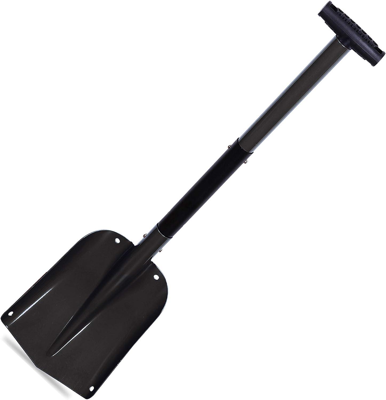 CARTMAN Portable Aluminium Sport Utility Shovel, Snow Shovel