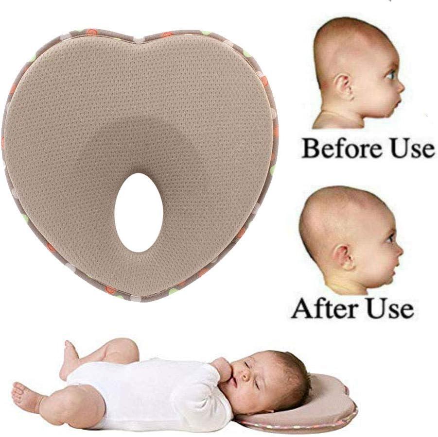 Baby Sleep Cushion Infant Newborn Anti Roll Pillow Prevent Flat Head Cushion US