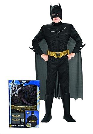 Disfraz Batman? musculoso niño - De 8 a 10 años: Amazon.es ...