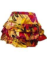Mini jupe à volants Rio - Coloré - commerce équitable - 100% coton - Parfait pour Fiesta!