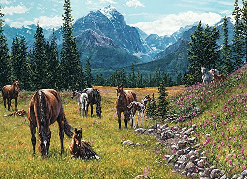 COBBLE HILL Horse Meadow Jigsaw Puzzle (1000 Piece)