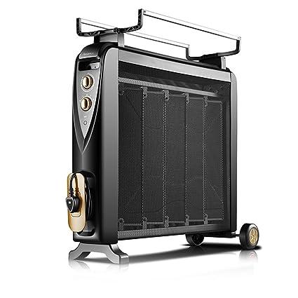 qvnuanqi Calentador eléctrico doméstico - aceite Ting - calentador eléctrico - horno de calcinación en caliente