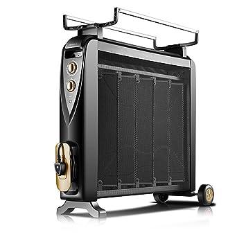 Calentador QFFL radiador eléctrico Ahorro de energía del hogar Estufa Asada Caliente Película eléctrica silicio silencioso 810 * 700mm Enfriamiento y ...