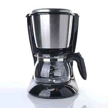 ZHAZHIJI Máquina de café, máquina de café Espresso Semi-automática, Negro Americano, el Reloj de Arena,: Amazon.es: Hogar