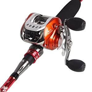 Sougayilang Baitcasting Rod Reel Combos Review