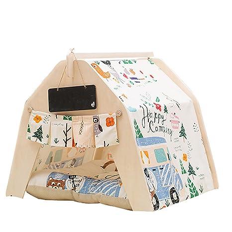 ChicSoleil Cama para perro, para mascotas, casetas para mascotas, casa de juegos para perro, tienda de campaña ...