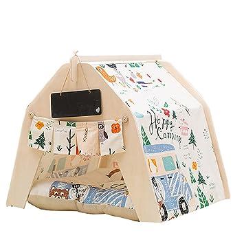 ChicSoleil Cama para perro, para mascotas, casetas para mascotas, casa de juegos para