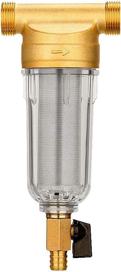 Cfslbrw Limpiador Agua Sistema Pre-Filtro, Estanque Jardín Acero ...