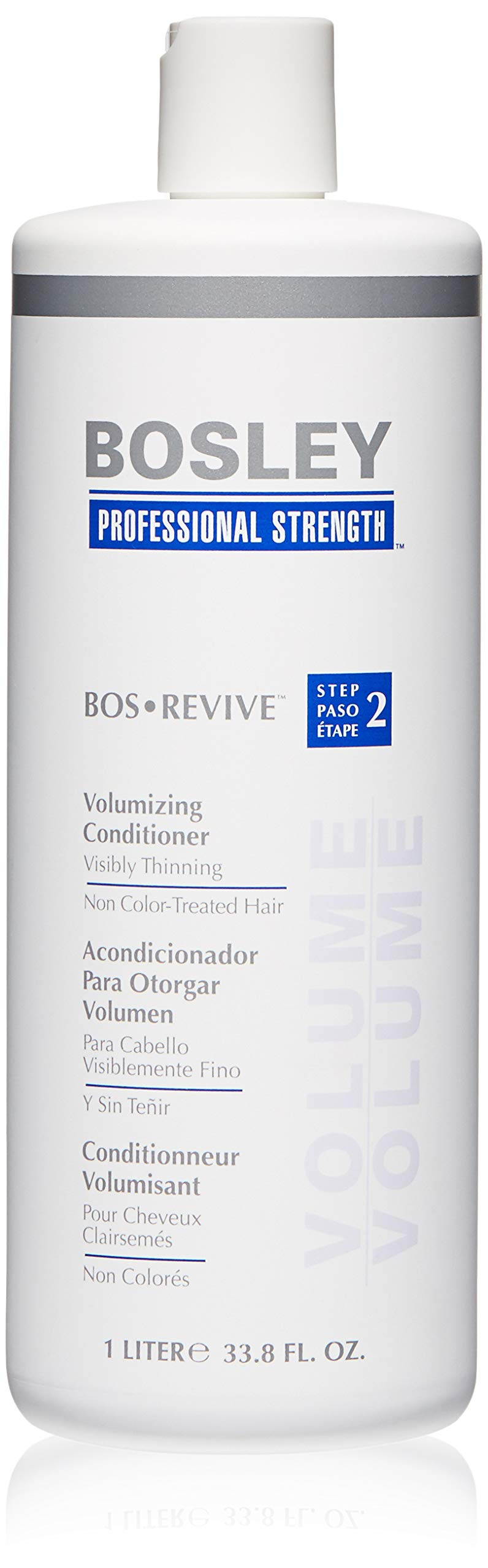 Bosley Professional Strength BOSRevive Volumizing Conditioner for Visibly Thinning Hair by Bosley Professional Strength