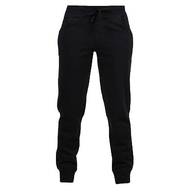 eb66bb120825 Urban D Boys Sports Jogging Joggers Cuff Kids Boys Fleece Trouser ...