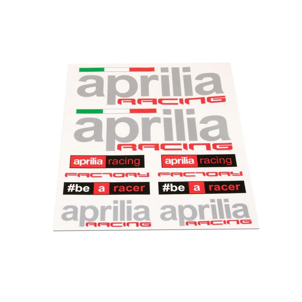 Aufkleber Set f/ür Aprilia Racing//Factory