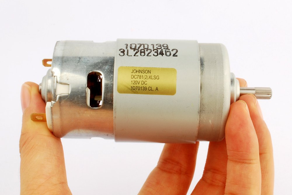 150W 775 DC Motor 120V/10000RPM Large Torque High-Power Motor Spindle Motor by Johnson (Image #6)