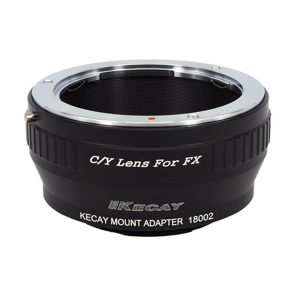 KECAY Compatible para Adaptador de Montaje de Lente Konica AR a Fujifilm FX Mount C/ámara X-Pro1 X-E1 X-E2 X-A1 X-M1 X-T1 X-T10 AI-FX AR-FX