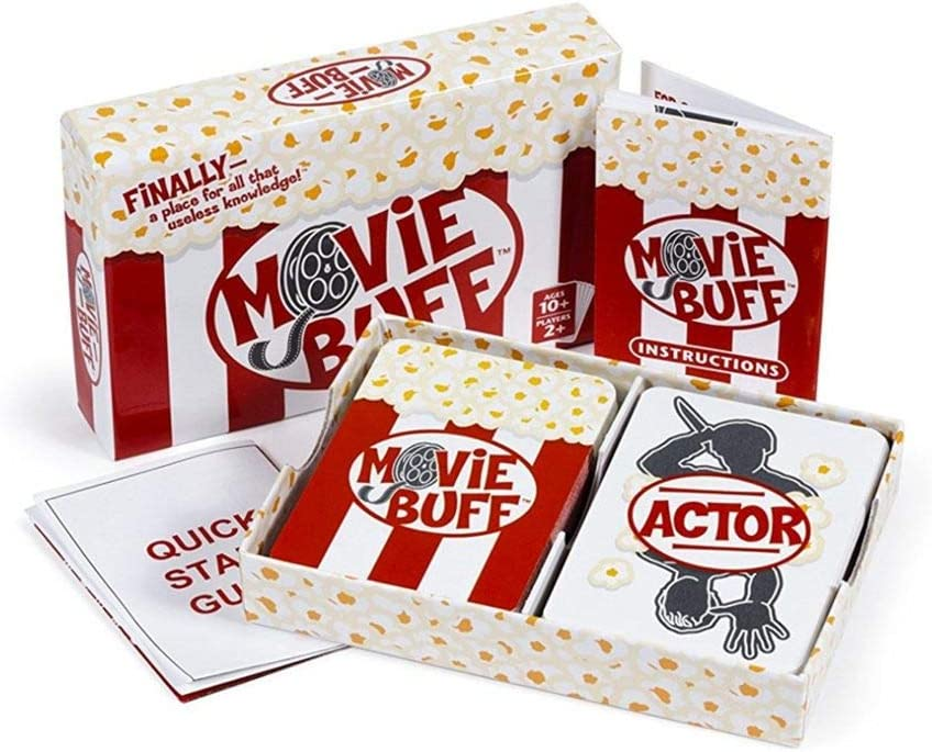 Movie Buff The World/'s Greatest Movie Trivia Card Game~NEW