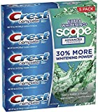 Cheap Crest Complete Extra Whitening + Scope, Fresh Mint Striped Tooth Paste – 5.75 Oz Each x 5 Pack