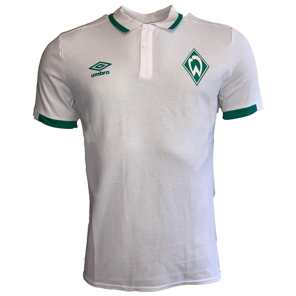 Umbro 2019-2020 Werder Bremen CVC Polo Football Soccer T-Shirt ...