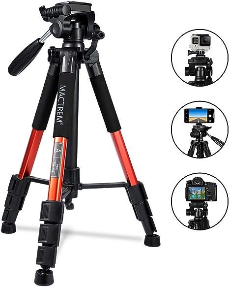 Trípode Cámara Reflex Mactrem Trípode Completo Flexible PT55 con ...