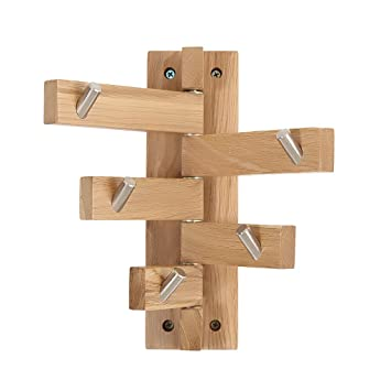 Coat rack Soporte Giratorio de 180 ° para Pared, Soporte ...