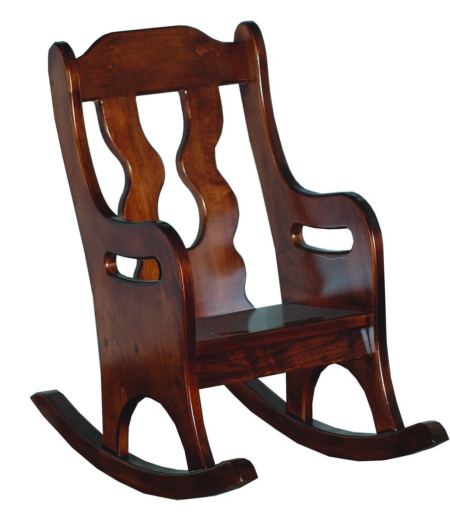 Heirloom Child's Oak Rocker