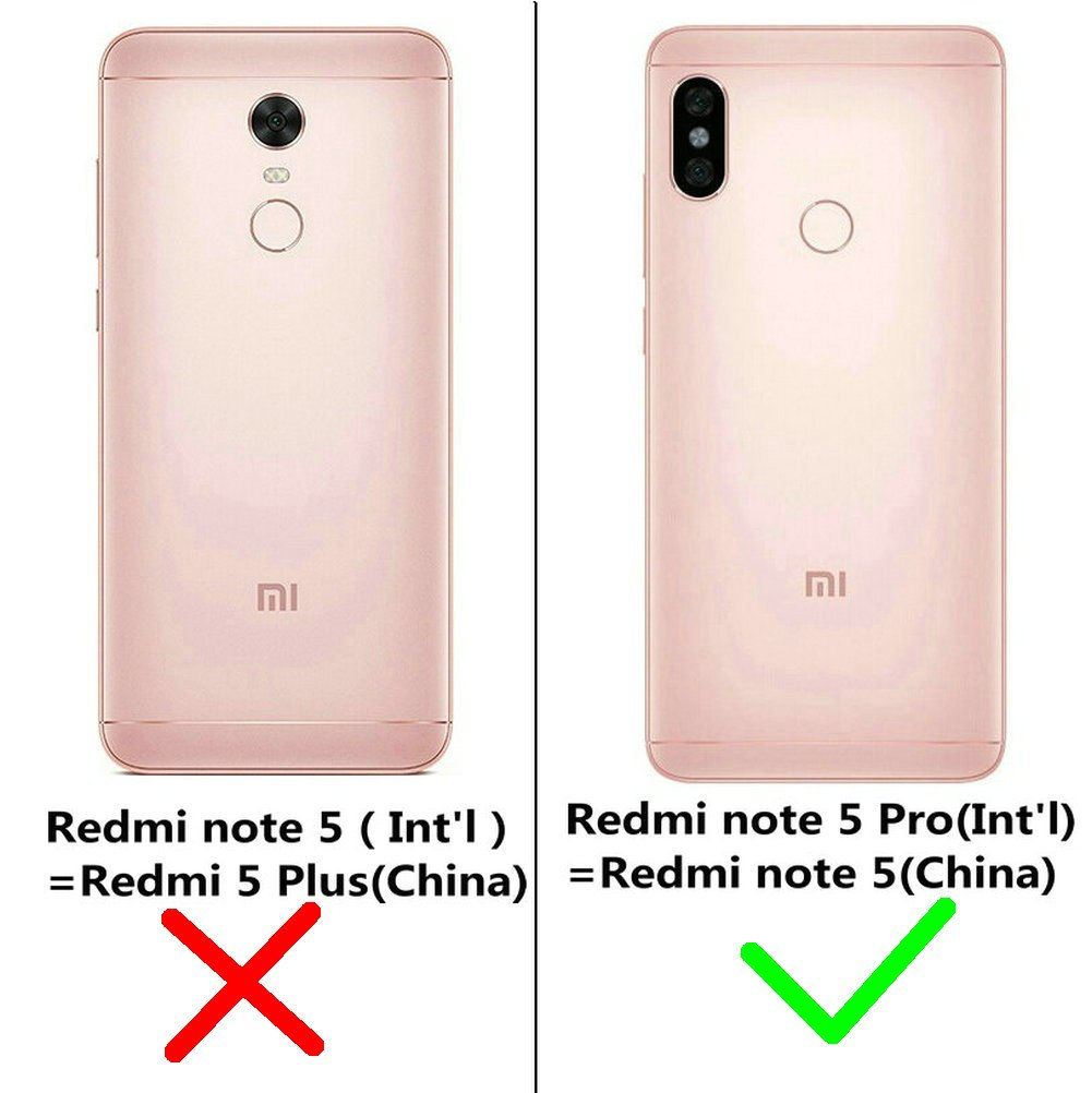 Kepuch Frost Thin PC Hard Case for Redmi Note 5 Pro - Black