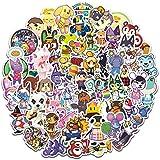 60Pcs Animal Crossing Stickers Funny Laptop Kpop Adesivos Hentai Animal Marine Personality Graffiti Suitcase Waterproof…