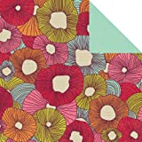 Kaisercraft Hippy Girl Double-Sided 12-Inch by 12-Inch Sunshine Paper, 10 Sheets