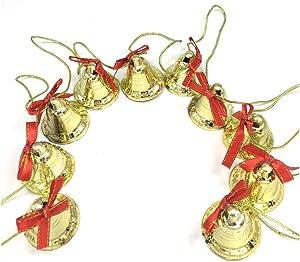 Ywong Christmas Jingle Decorative Bell, Xma Tree Hanging Bells Christmas Tree Pendants Ornaments Decoration