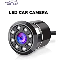FABTEC LED Night Vision Waterproof Car Rear View Reverse Parking HD Camera For (All Cars)