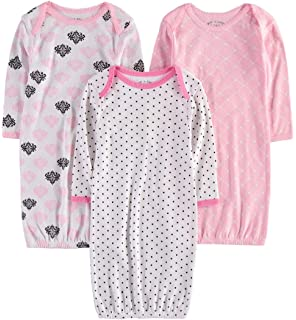 9b4e2083e728 Amazon.com  Simple Joys by Carter s Baby Girls  3-Pack Cotton ...