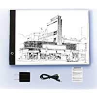 RONSHIN Tabla de Dibujo Digital para Tablet A4 con Ledes gráficos para Dibujo, Escritura y Copia, Australia Regulation