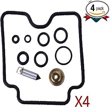 NEW 4 Sets Carburetor Carb Repair Rebuild Kits Fit Suzuki GSX600F GSX750F Katana 18-5060