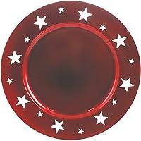 GALILEO Set Bajo Plato 24 Uds. Rojo