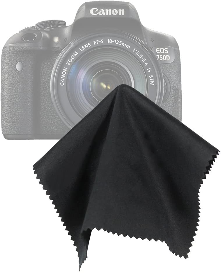 LS Photography LGG205 Black SuperFiber Lens Cleaning Cloth 16 x 16 Gray 10 pcs