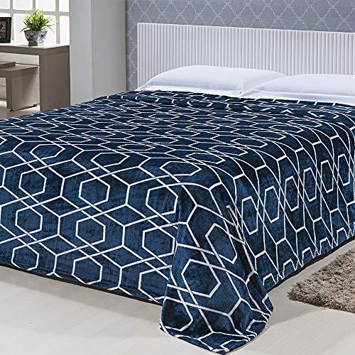 Cobertor Microfibra Toque de Seda Est. Casal 1,80 X 2,20 Des. 007/Unico Niazitex Des. 007 Casal Cameba