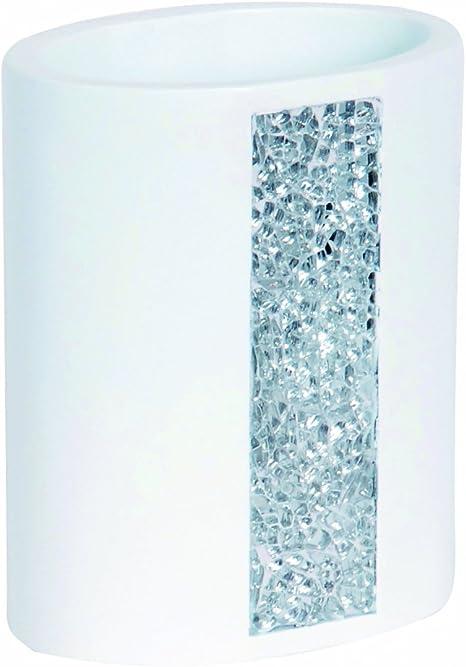 MSV 141542 Zen Porte Brosses /à Dents Gris 6 x 10,6 cm