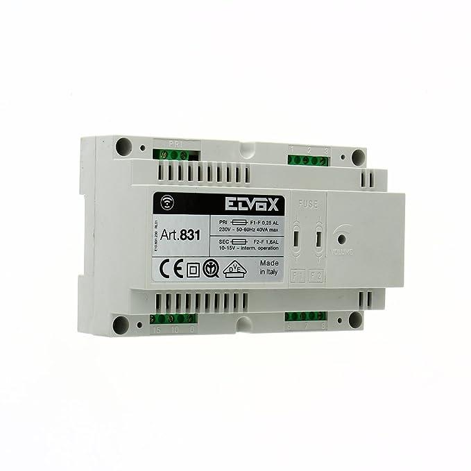 Schema Elettrico Citofono Elvox 831 : Elvox citofono quale modello e archivio hardware upgrade forum