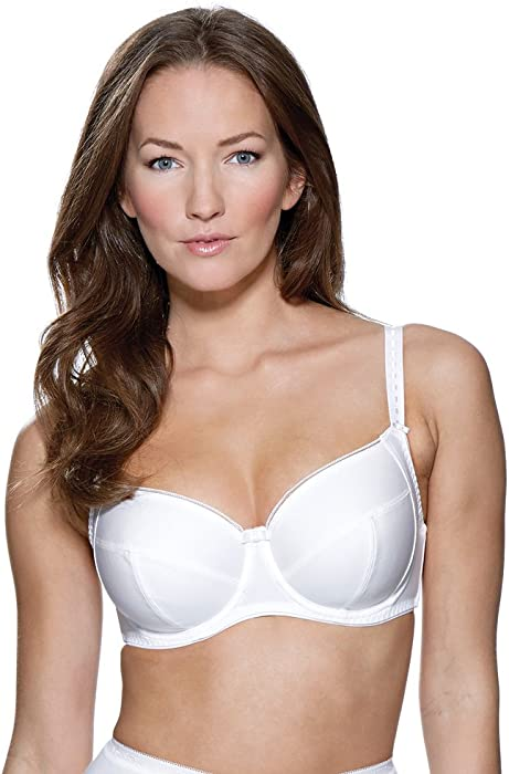 00c4c9071c CHARNOS Superfit Everyday White Full Cup Bra 120609 30GG  Charnos   Amazon.co.uk  Clothing