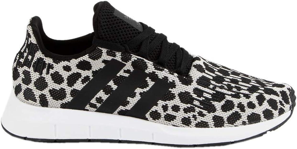 adidas Originals Damen Swift Run, SchwarzSchwarzWeiß, 44