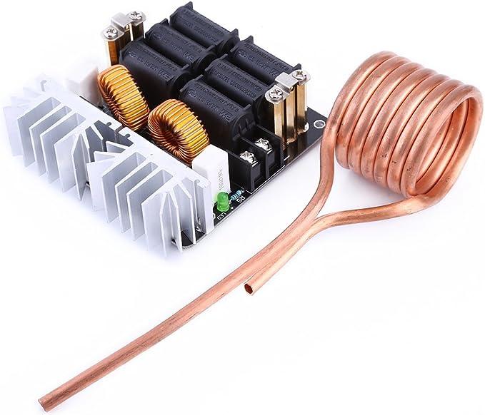 1800W ZVS Induction Heat Board Module Flyback Driver Heat Kupferröhre Tesla coil