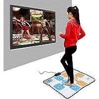 DEWIN Dans minderi - iki kişilik kaymaz dans minderi Wii konsol oyunu için