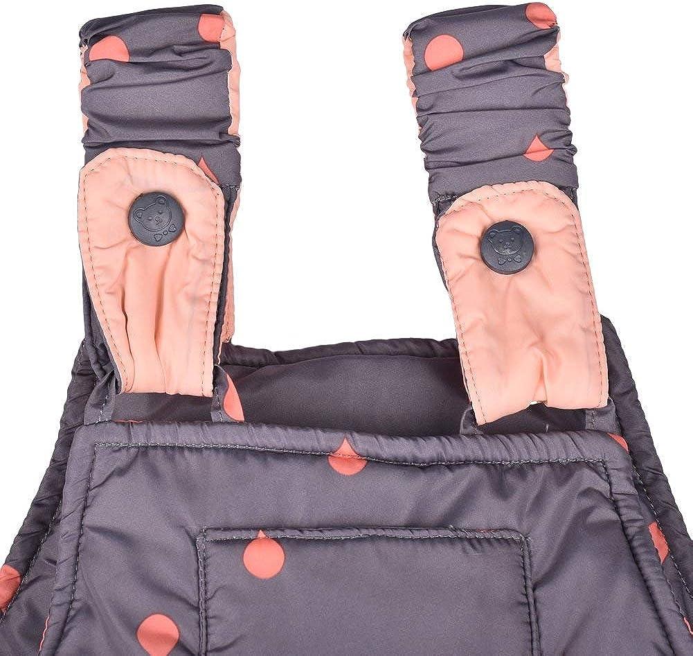 Bekleidungsset ZOEREA M/ädchen Junge S/ü/ß Daunenjacke Punkte mit fest Kaputze mit Daunenhose und Daunenschale 3tlg