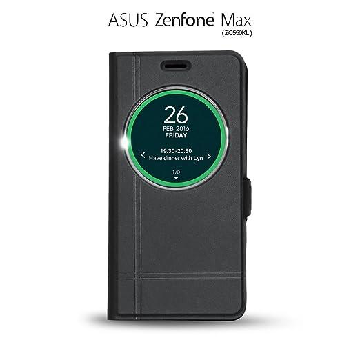 11 opinioni per iBroz® Asus Zenfone Max (ZC550KL), Custodia, Custodia Flip Cover Smart View