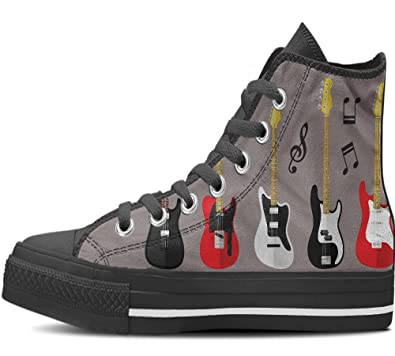 Gnarly Tees Mens Guitar Shoes High Top  448SAMH7J