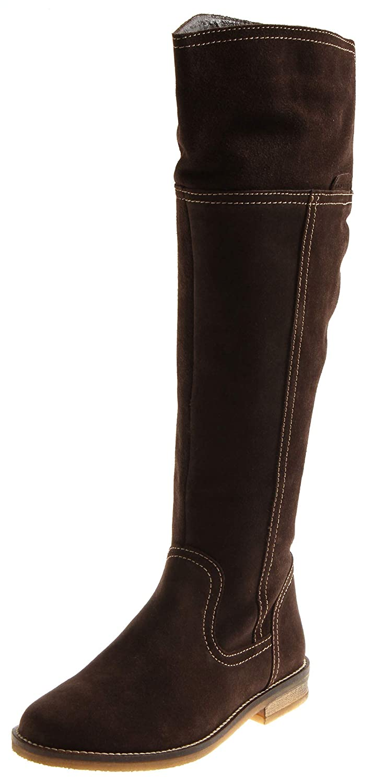 Tamaris 1-25651 Damen Lederstiefel Stiefel Schuhe Damenstiefel Over-Knee Wildleder
