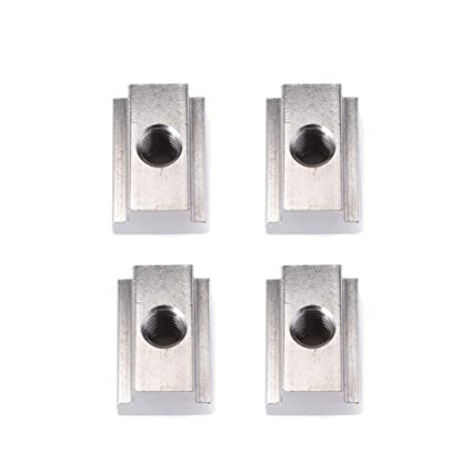 Aynaxcol 5Pcs T Slot Nuts for Toyota Tunda Toyota Tacoma Pick-Up Truck Bed Deck Rails Cleat Black